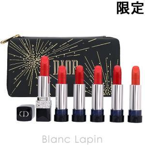 クリスチャンディオール Dior 【ハッピー2020】ルージュディオールクチュールセット 【c_coffret】 [476928/476935]|blanc-lapin