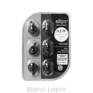 エリップス ellips ヘアビタミンシャイニーブラック ピーチ&シトラスの香り 6粒 [200045]【メール便可】|blanc-lapin