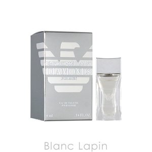 【ミニサイズ】 エンポリオアルマーニ EMPORIO ARMANI ダイヤモンズフォーメン EDT 4ml [032269] blanc-lapin
