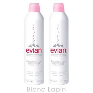 エビアン EVIAN エビアンフェイシャルスプレー 300mlx2 [030289]|blanc-lapin