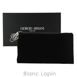 【ノベルティ】 ジョルジオアルマーニ GIORGIO ARMANI コスメポーチ #ブラック [601254]【メール便可】|blanc-lapin