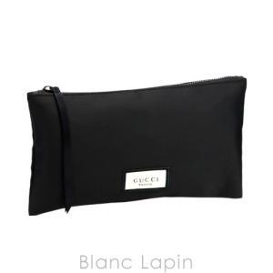 【ノベルティ】 グッチ GUCCI コスメポーチ フラット #ブラック [391567]【メール便可】 blanc-lapin