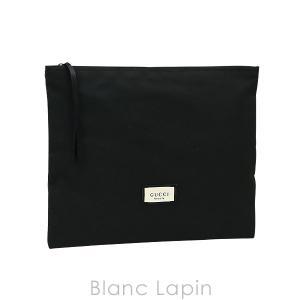 【ノベルティ】 グッチ GUCCI コスメポーチフラット ラージ #ブラック [570542] blanc-lapin