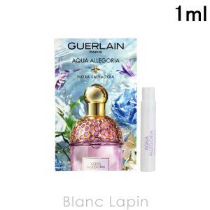 【ミニサイズ】 ゲラン GUERLAIN アクアアレゴリアフローラサルヴァジア EDT 1ml [515950]|blanc-lapin