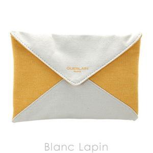 【ノベルティ】 ゲラン GUERLAIN コスメポーチ #イエローxアイボリー [046020]【メール便可】|blanc-lapin