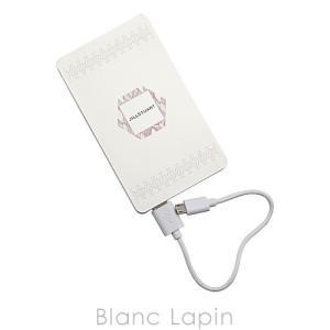 【ノベルティ】 ジルスチュアート JILL STUART モバイルバッテリー #ホワイト [065311]|blanc-lapin