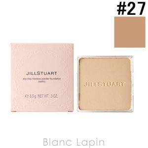 ジルスチュアート JILL STUART エアリーステイフローレスパウダーファンデーション レフィル #27 濃いオークル 8.5g [276008]【メール便可】|blanc-lapin
