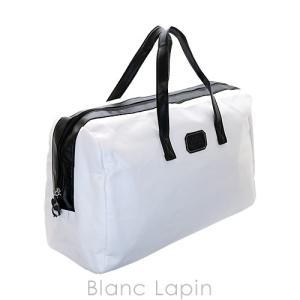 【ノベルティ】 カールラガーフェルド KARL LAGERFELD ダッフルバッグ #ホワイト×ブラック [063197]|blanc-lapin