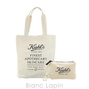 【ノベルティ】 キールズ KIEHL'S トートバッグ&ミニポーチ [057866] blanc-lapin