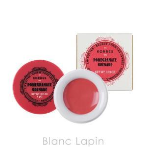 コレス KORRES リップバター ポメグラネイト 6g [073540]【メール便可】 blanc-lapin