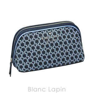 ケイトスペードニューヨーク kate spade new york スペードリンクスモールコスメティックケース #BLUE MULTI [990650] blanc-lapin