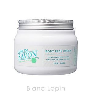 レールデュサボン L'AIR DE SAVON ボディパッククリーム センシュアルタッチ 250g [320634]|blanc-lapin