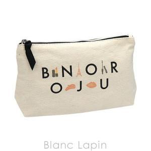 【ノベルティ】 ランコム LANCOME コスメポーチ BONJOUR #ベージュ [623989]【メール便可】|blanc-lapin