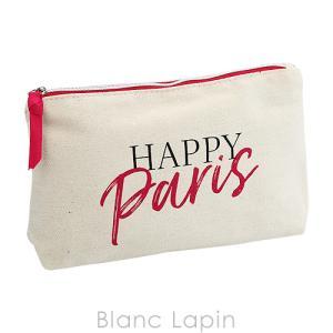 【ノベルティ】 ランコム LANCOME コスメポーチ HAPPY PARIS [069104]【メール便可】|blanc-lapin