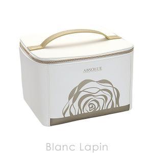 【ノベルティ】 ランコム LANCOME アプソリュスキンケアバニティケース #ホワイト/ゴールド [224574]|blanc-lapin