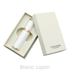 【ノベルティ】 ロクシタン L'OCCITANE プレミアムアトマイザー #ホワイト/ゴールド [513156]|blanc-lapin