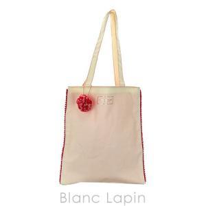 【ノベルティ】 ロクシタン L'OCCITANE ローズチャーム付きキャンバスバッグ [113074]|blanc-lapin