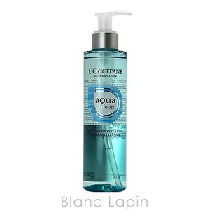 ロクシタン L'OCCITANE アクアレオティエジェルクレンザー 195ml [505472] blanc-lapin