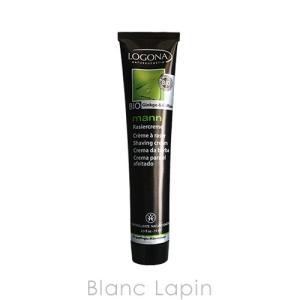 ロゴナ LOGONA メンズ・シェイビングクリーム 75ml [027725] blanc-lapin