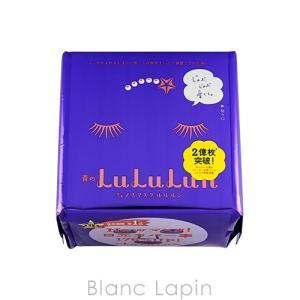 ルルルン LULULUN フェイスマスク青のルルルン 32枚/350ml [061680]|blanc-lapin