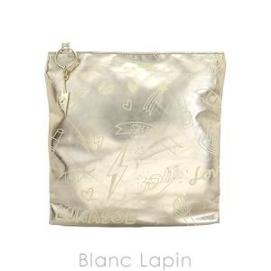 【ノベルティ】 ルナソル LUNASOL コスメポーチ WALNUT #ゴールド [047454]【メール便可】 blanc-lapin