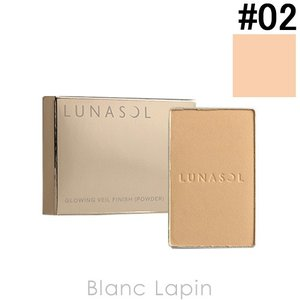 ルナソル LUNASOL グロウイングヴェールフィニッシュパウダー レフィル #02 Natural 6.2g [384572]【メール便可】|blanc-lapin