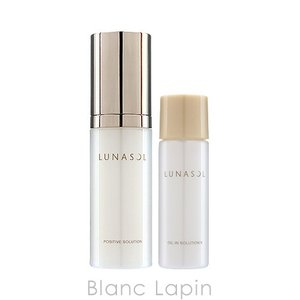 ルナソル LUNASOL ポジティブソリューションキット 40ml 30g [348987]|blanc-lapin