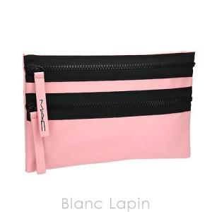 【ノベルティ】 マック M・A・C コスメポーチ ダブルファスナー #ピンク [550395]【メール便可】|blanc-lapin