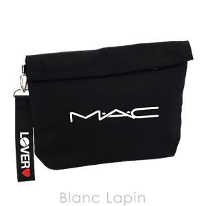 【ノベルティ】 マック M・A・C クラッチポーチ ロールトップ #ブラック [073903]|blanc-lapin