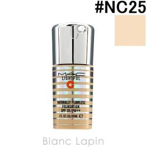 マック M・A・C ライトフルC+ナチュラリーフローレスSPF35ファンデーション #NC25 / 30ml [432837]|blanc-lapin