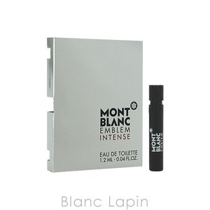 【ミニサイズ】 モンブラン MONT BLANC エンブレムインテンス EDT 1.2ml [067744]|blanc-lapin