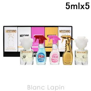 【ミニサイズセット】 モスキーノ MOSCHINO ミニチュアコレクションフォーウーマン 5mlx5 [851416]|blanc-lapin