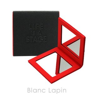 【ノベルティ】 メイクアップフォーエバー MAKE UP FOR EVER ポケットダブルミラー #ブラック [119023] blanc-lapin