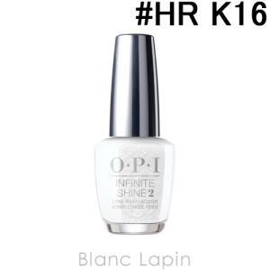 OPI インフィニットシャインネイルラッカー #HR K16 ダンシング キープス ミー オン マイ トゥーズ 15ml [141682] blanc-lapin