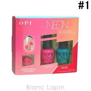 OPI ネオンバイオーピーアイネイルラッカーデュオパック #1 15mlx2 [125796]|blanc-lapin