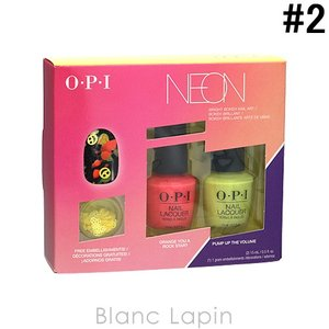 OPI ネオンバイオーピーアイネイルラッカーデュオパック #2 15mlx2 [125840]|blanc-lapin