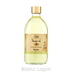 サボン SABON シャワーオイル グリーンローズ 500ml [927085]|blanc-lapin