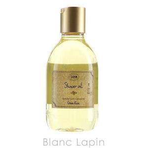 【液漏れ】サボン SABON シャワーオイルS グリーンローズ 300ml [914122]|blanc-lapin