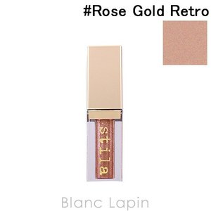 スティラ STILA マグニフィセントメタルグリッター&グロウリキッドアイシャドウ #Rose Gold Retro 4.5ml [351998]【メール便可】|blanc-lapin