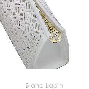 【ノベルティ】 トリーバーチ TORY BURCH コスメポーチ #ホワイト [339787] blanc-lapin 05