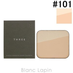 スリー THREE プリスティーンコンプレクションパウダーファンデーション リフィル #101 12g [594575]【メール便可】|blanc-lapin