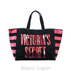 ヴィクトリアシークレット VICTORIA'S SECRET トートバッグ スパンコールロゴ #ブラック [760620] blanc-lapin