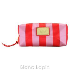 ヴィクトリアシークレット VICTORIA'S SECRET コスメポーチ スモールナイロンコスメティック #Oversized Pink Stripe [563652]|blanc-lapin