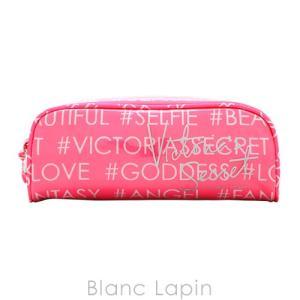 ヴィクトリアシークレット VICTORIA'S SECRET コスメポーチ メイクアップケース #Hashtag Logo [096445]|blanc-lapin
