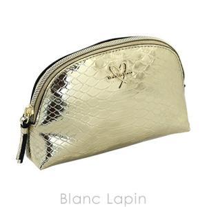 ヴィクトリアシークレット VICTORIA'S SECRET コスメポーチ バイカラーパイソン #ゴールド/シルバー [048291] blanc-lapin