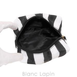 ヴィクトリアシークレット VICTORIA'S SECRET コスメポーチ #ブラックxホワイト [049069] blanc-lapin 02