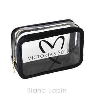 ヴィクトリアシークレット VICTORIA'S SECRET コスメポーチL #ブラック [049144]|blanc-lapin