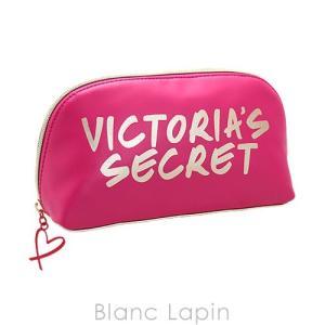 ヴィクトリアシークレット VICTORIA'S SECRET コスメポーチ サマーロゴミディアムポーチ #ピンク/ゴールド [429987]|blanc-lapin