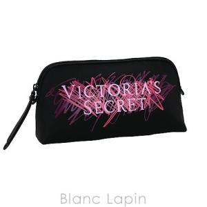 ヴィクトリアシークレット VICTORIA'S SECRET コスメポーチ グラフィティM #ブラック [086394]|blanc-lapin