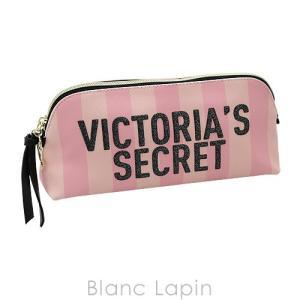 ヴィクトリアシークレット VICTORIA'S SECRET コスメポーチ シグネチャーストライプビューティバッグ #ピンク [084543]|blanc-lapin